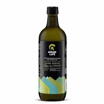 Greek olive oil in 1 liter plastic